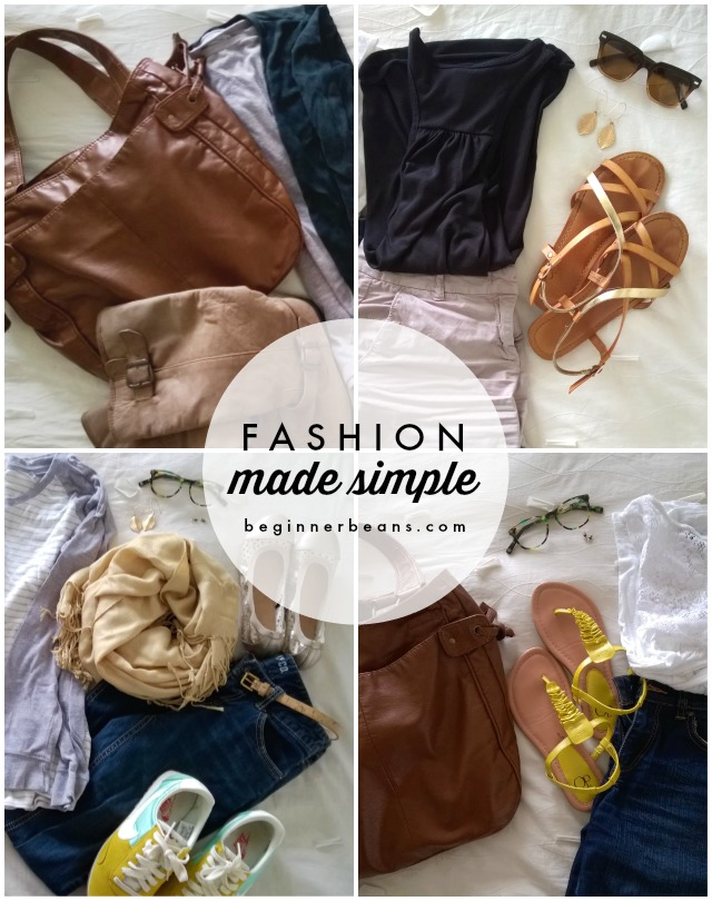 Simple Capsule Wardrobe for the Non-Fashionista