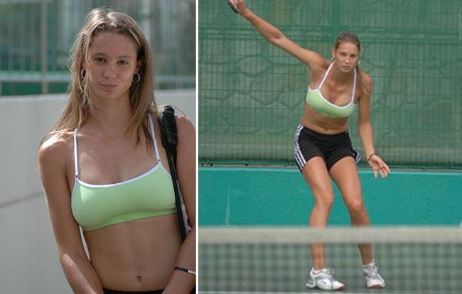 What Ashley harkleroad hot tennis players female like