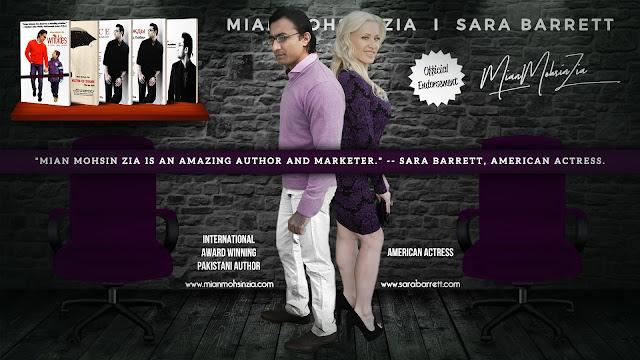 Sara Barrett, American Actress Endorses Mian Mohsin Zia