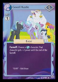 My Little Pony Good Hustle Premiere CCG Card