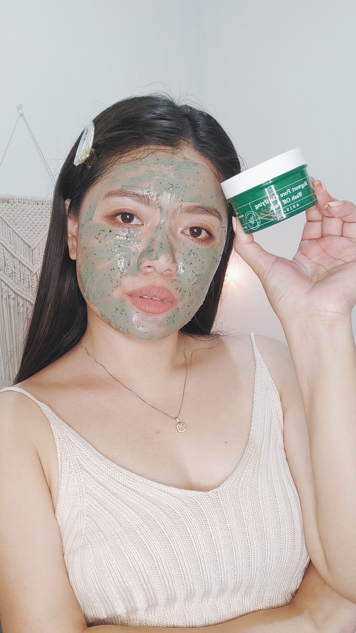 REVIEW OF AXIS-Y MUGWORT PORE CLARIFYING WASH OFF PACK