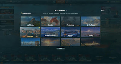 puertos en world of warships