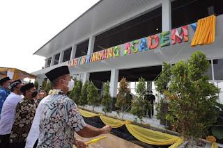 Wagub Sumut Resmikan Gedung Olahraga Alaisy Swimming Academy