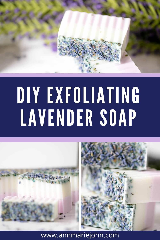 Handmade Exfoliating Lavender Soap
