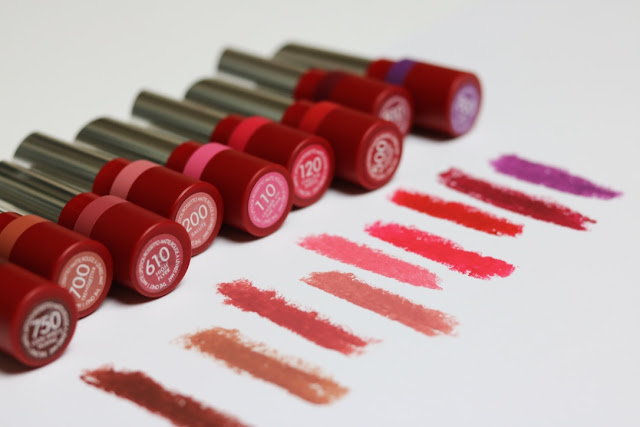 Rimmel Matte Lipstick Collection
