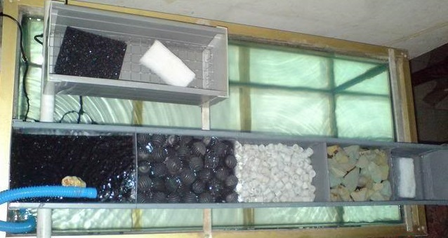 Filter Aquarium Mekanik - Cara Budidaya Ikan Hias