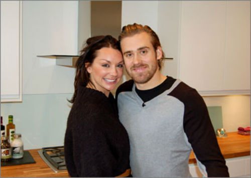 Henrik Zetterberg's wife Emma Andersson (Photo ...