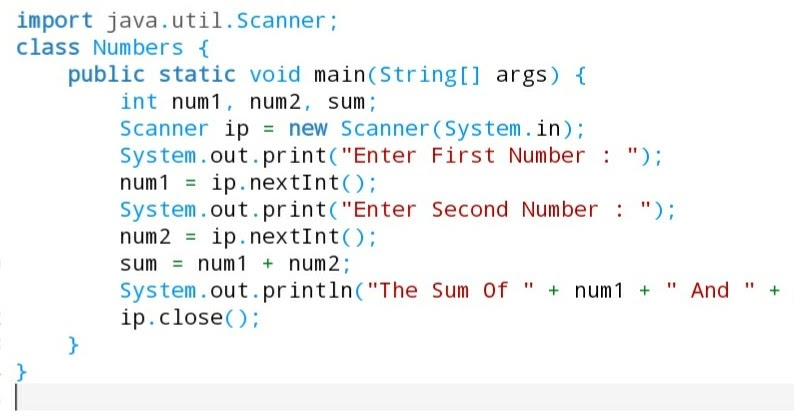 Find Largest Number Among Three Numbers In Java