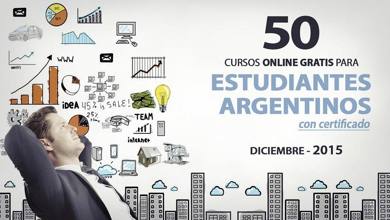50 Cursos Online Gratis Para Estudiantes Argentinos Con Certificado