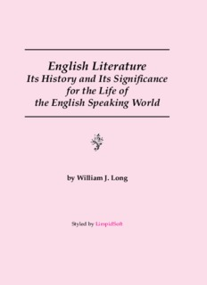 English Literature By William Long PDF Books