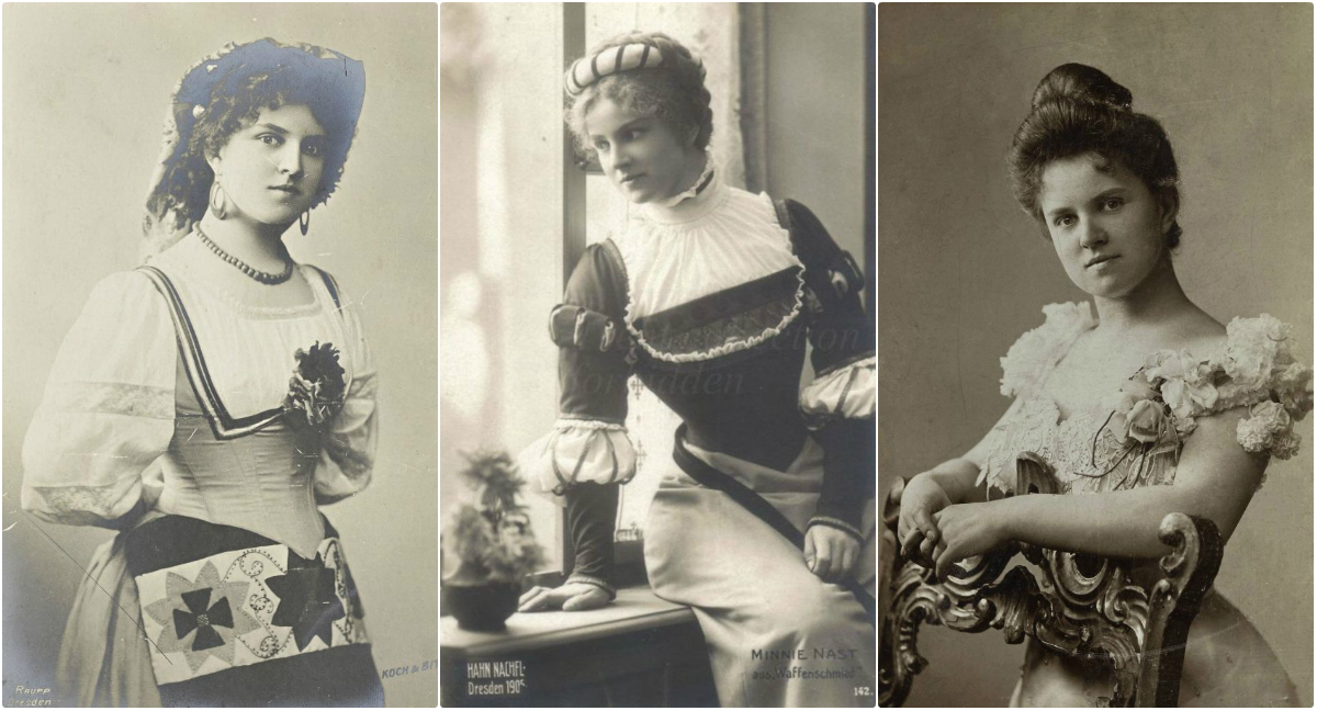Beautiful Vintage Photos of German Soprano Minnie Nast in the 1900s