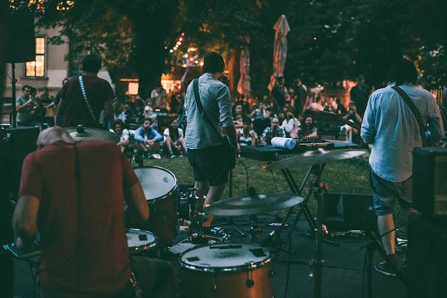 Nastop na ljubljanskem Prazniku glasbe, mednarodnem projektu za promocijo glasbe. Foto: Pia Klančar