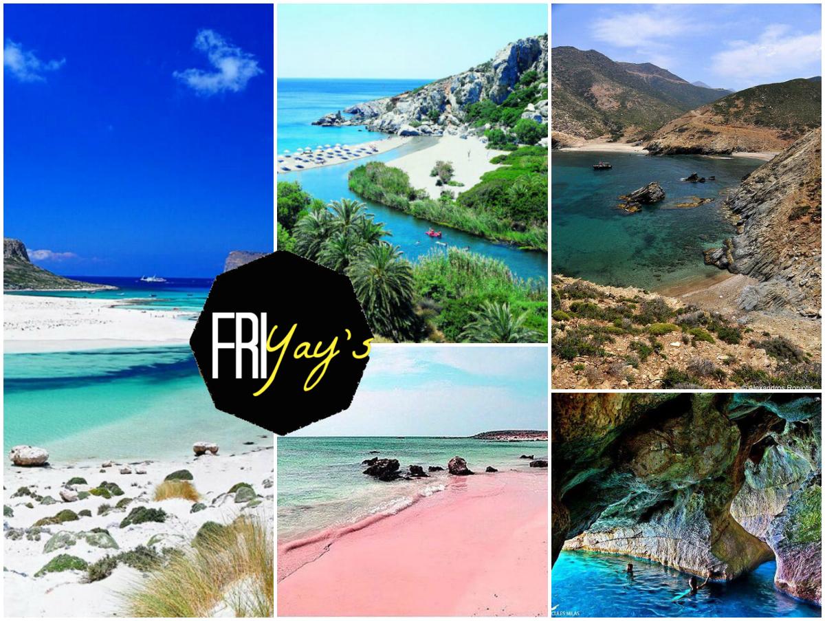Best Beaches Crete Schönste Strände Kreta Traumstrand Travel Reisebericht Travelguide