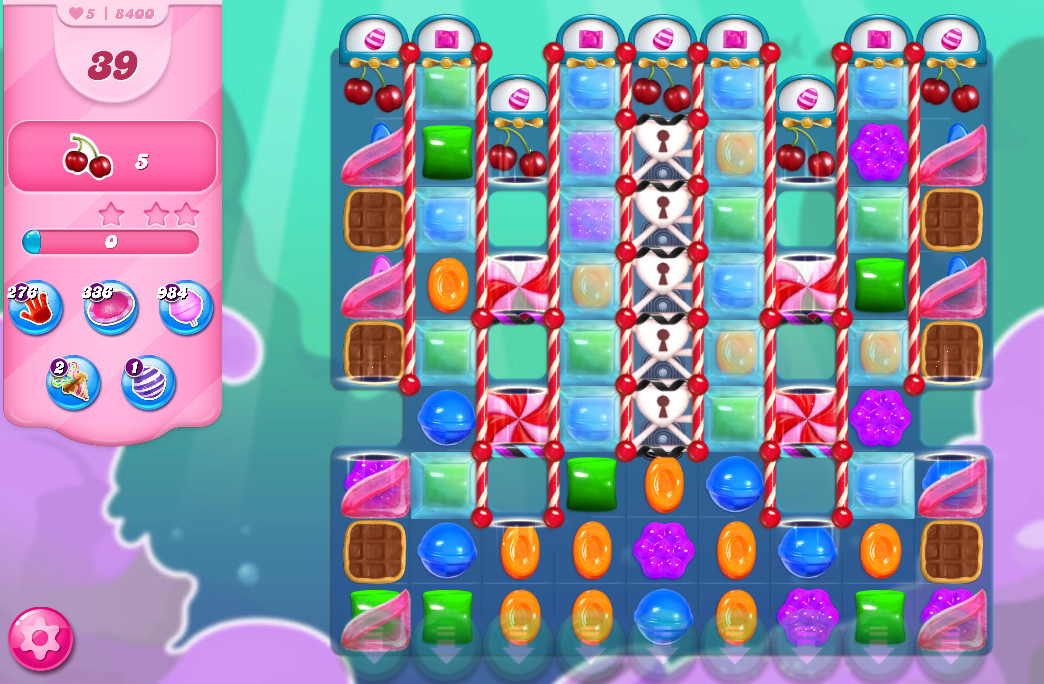 Candy Crush Saga level 8400