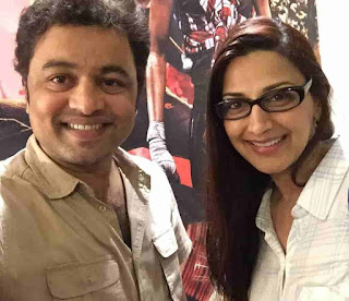 Subodh Bhave With Sonali Bendre