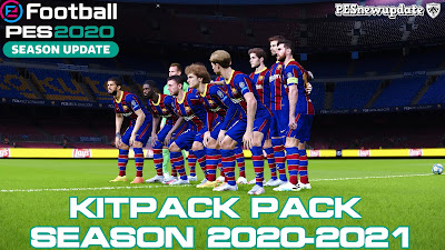 PES 2020 Kitpack Season 2020/2021 by Glauber Silva