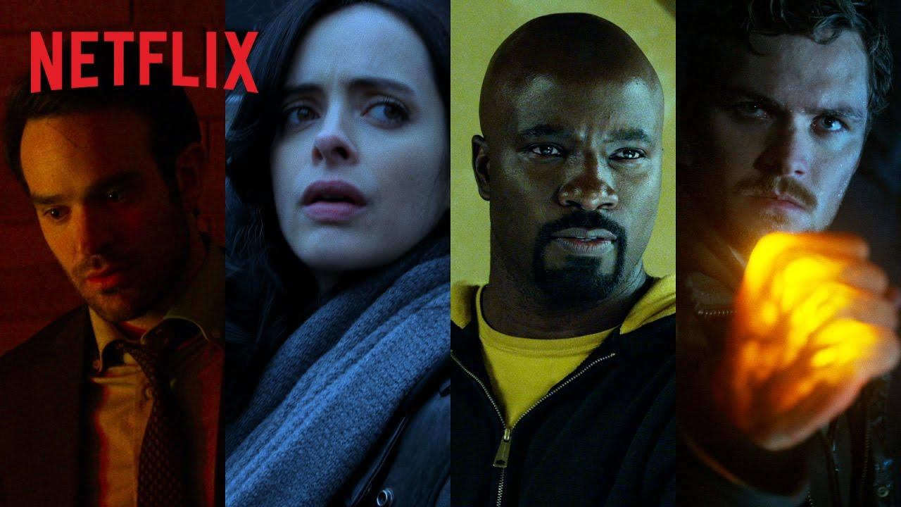 """Saiu! Primeiro trailer da nova série da Marvel """"Os Defensores"""" Vem ver!"""