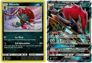 Zoroark GX and Weavile Deck