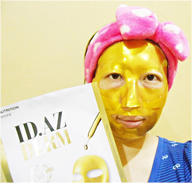 ID.AZ Dermastic Golden Fit Mask