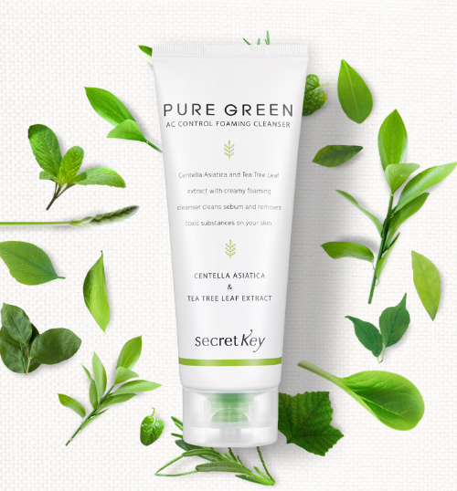 Pure Green AC Control Foaming Cleanser