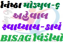NISHTHA Online Talim Module-6 Aheval, Swadhyay Kary And BISAG Video-www.wingofeducation.com