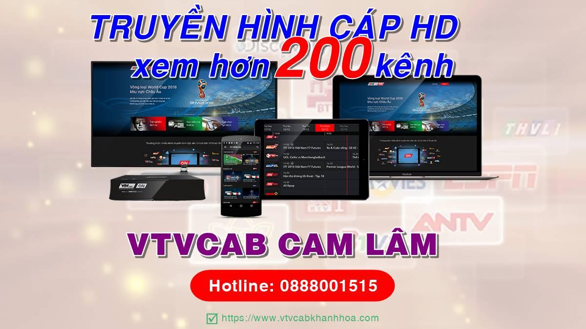 Đơn vị lắp truyền hình cáp tại Cam Lâm - Khánh Hòa