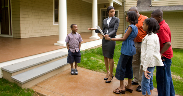Black family denied buying a home