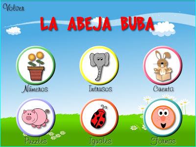 Juegos Educativos Para Ninos De 3 A 5 Anos La Abeja Buba Juegos