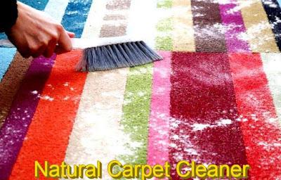 Natural Carpet Cleaner Recipe