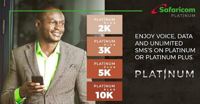 Safaricom Platinum plans