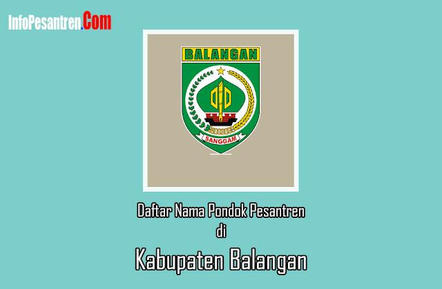 pesantren di Kabupaten Balangan