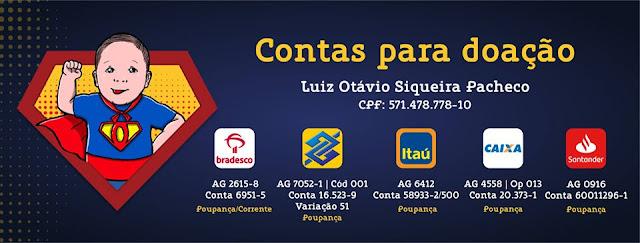 Ame Luiz Otávio | Juntos somos mais fortes campanha Ame Luiz Otávio
