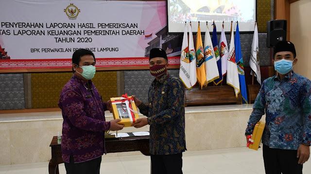Pemkab Lampung Barat Terima WTP Ke-11