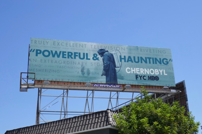 Chernobyl Emmy consideration billboard