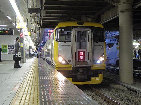 特急ちばかいじ号 千葉行き E257系