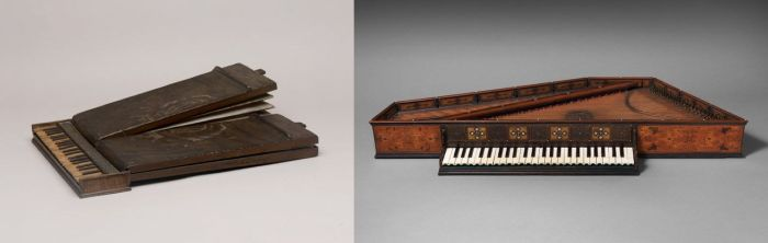 1. Regal 2. Spinet