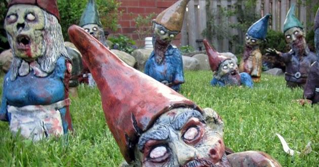 Gnombies Garden: The Walking Dead Gnomes?