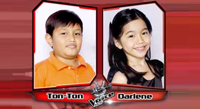 Darlene and Ton-Ton Advance to the Live Semi-Finals from Team Lea on The Voice Kids Philippines
