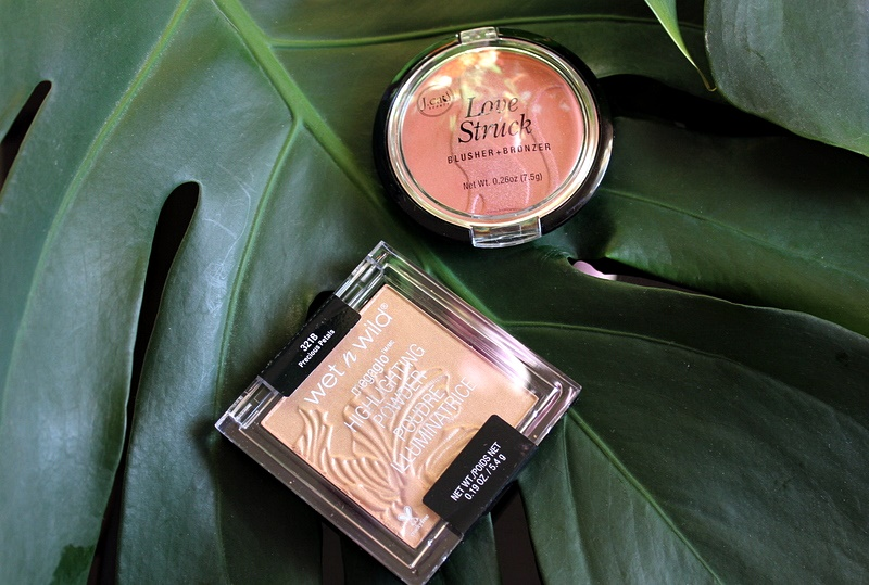 Бюджетное на LoveLetter: Румяна-бронзер J.Cat Beauty Love Struck Blusher + Bronzer #Honey Bunches и знаменитый хайлайтер от Wet n Wild #Precious Petals / обзор, отзывы