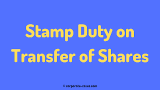 stamp duty on transfer of shares indian stamp act