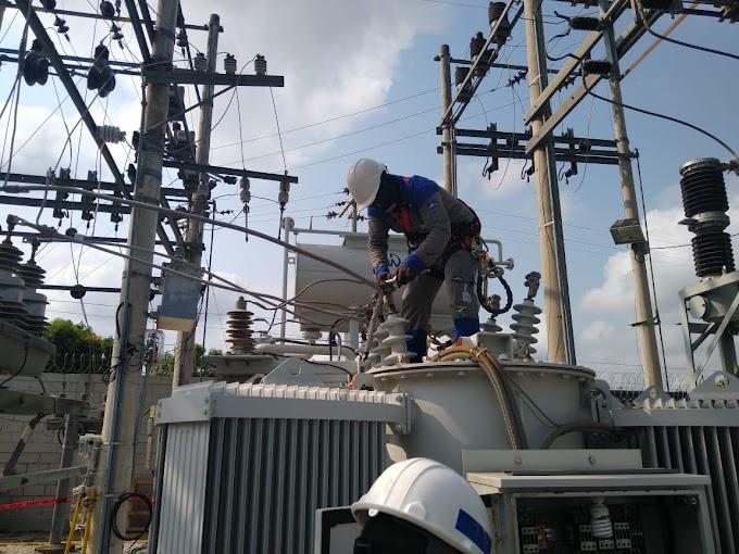 Avanzan trabajos de mejora en Taganga y subestación Aracataca este martes 11 de mayo