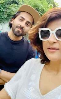 Ayushmann Khurrana With Tahira Kashyap