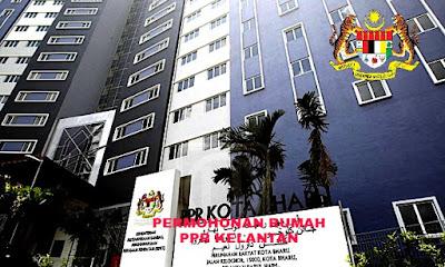 Permohonan Rumah PPR Kelantan 2018 Online