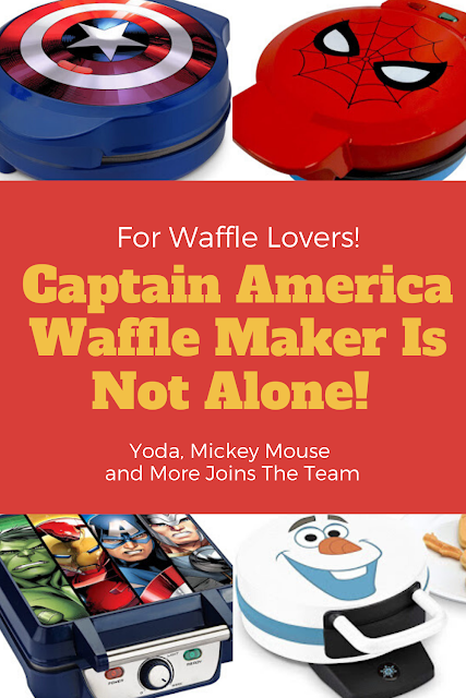 Captain America Waffle Maker Is Not Alone! Yoda, Mickey Mouse and More Joins The Team