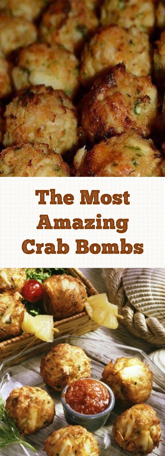 The Most Amazing Crab Bombs