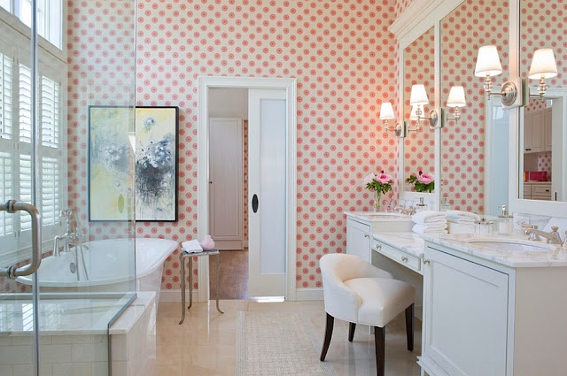 Awesome Feminine Bathroom Decorating Ideas