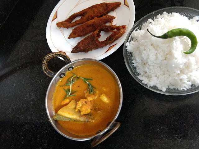 Mom's Fish Curry Rice