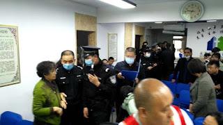山西太原郇城教会主日聚会被冲击
