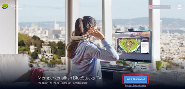 cara install bluestacks 2