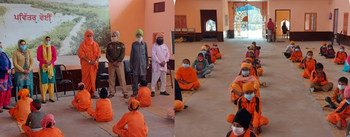A Seminar on Traffic Rules held at Nawan Nankana Charitable School Sultanpur Lodhi